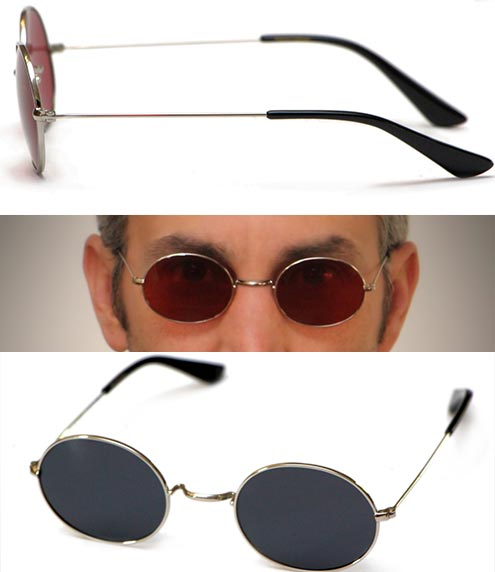 Murdock Glasses by Magnoli Clothiers with red and black lens